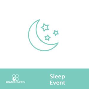 lead olympic events sleep